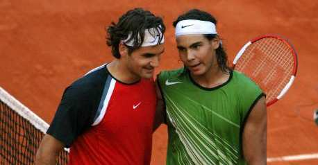 Federer and Nadal French Open Final