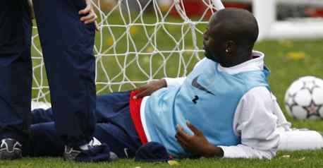 Gallas making a quick recovery