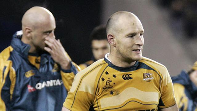 Mortlock capitaine - Rugby - Coupe du Monde