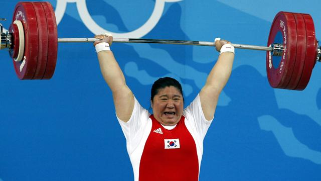 Korean 'Female Hercules' Jang retires - Weightlifting
