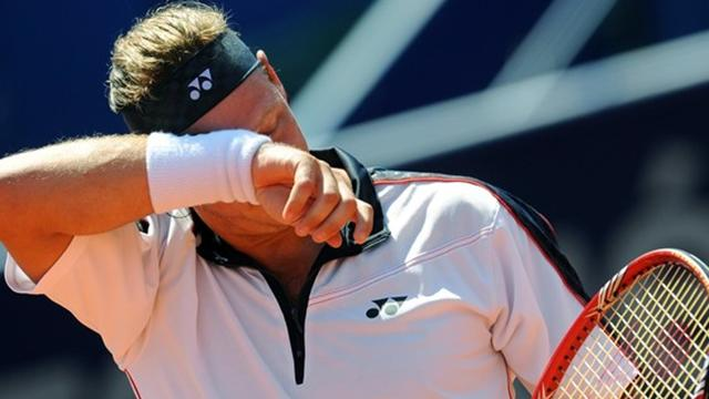 Nalbandian missar tre Grand Slam-turneringar