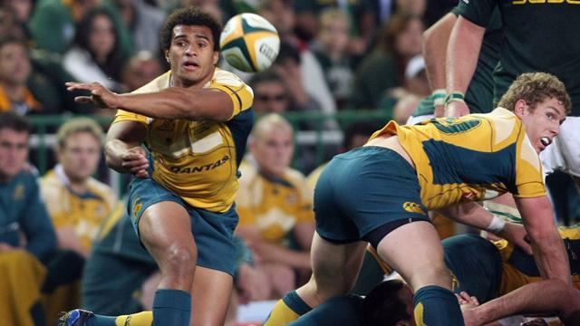 Wallabies avec Genia - Rugby - Tri-Nations
