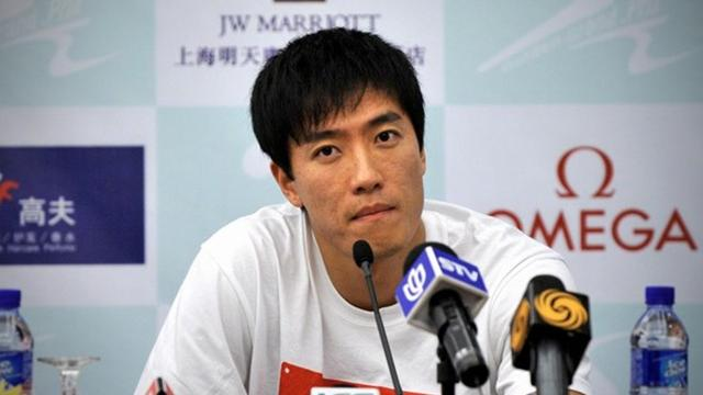 Liu Xiang eases back into action