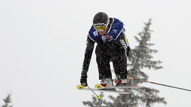 Ski cross wins for David and Kraus
