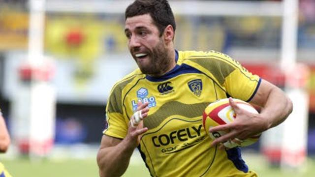 Clermont: Malzieu prolonge - Rugby - Top 14