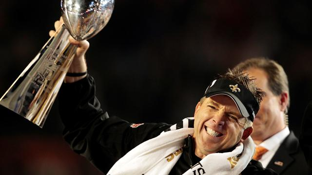 Saints re-sign suspended coach Payton  - American Football