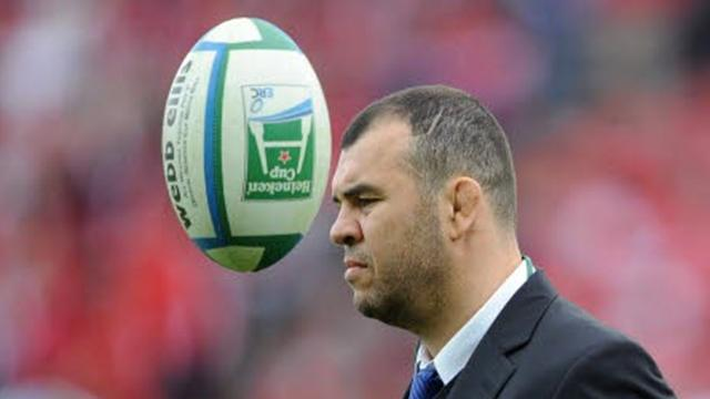 Paris : Cheika arrive - Rugby - Top 14