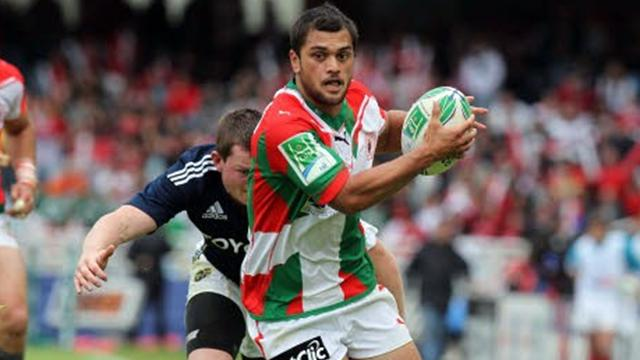 Hunt au centre - Rugby - Coupe d'Europe