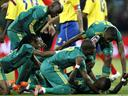 South Africa beat Colombia