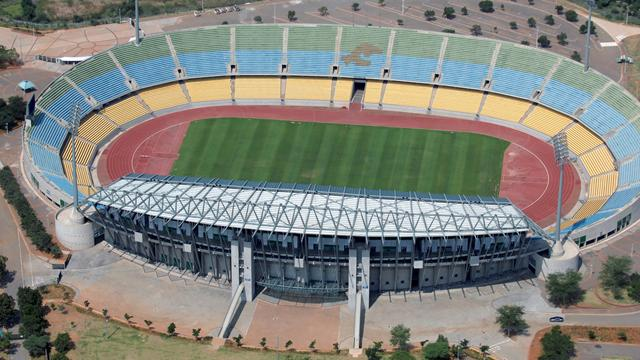 Royal Bafokeng stadium in Rustenburg