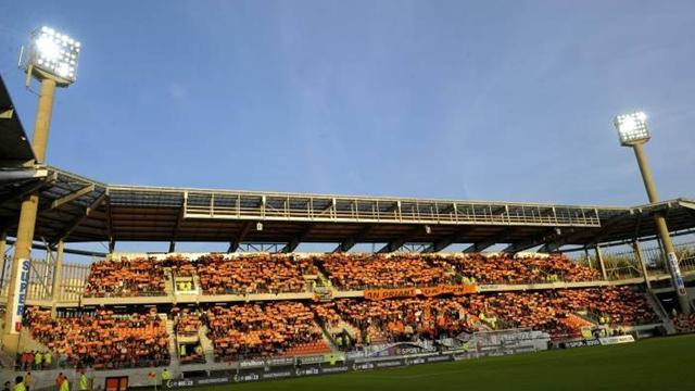 Lorient's stadium, Stade du Moustoir