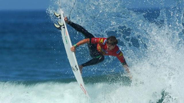 Muniz leads way  - Surfing