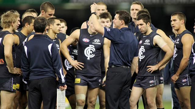 Blues hit hard by injuries - Australian Football