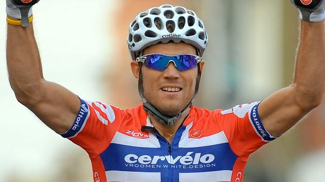 Hushovd sprints to stage - Cycling - Vuelta a España