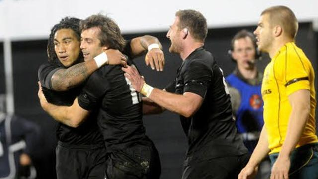 Les Blacks au-dessus - Rugby - Tri-Nations