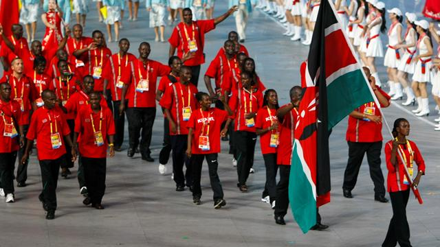 Kenyan team woes - Athletics
