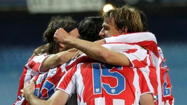 Atletico leave it late  - Football - La Liga