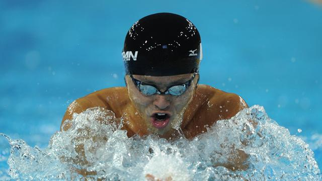 Kitajima reaches breaststroke final