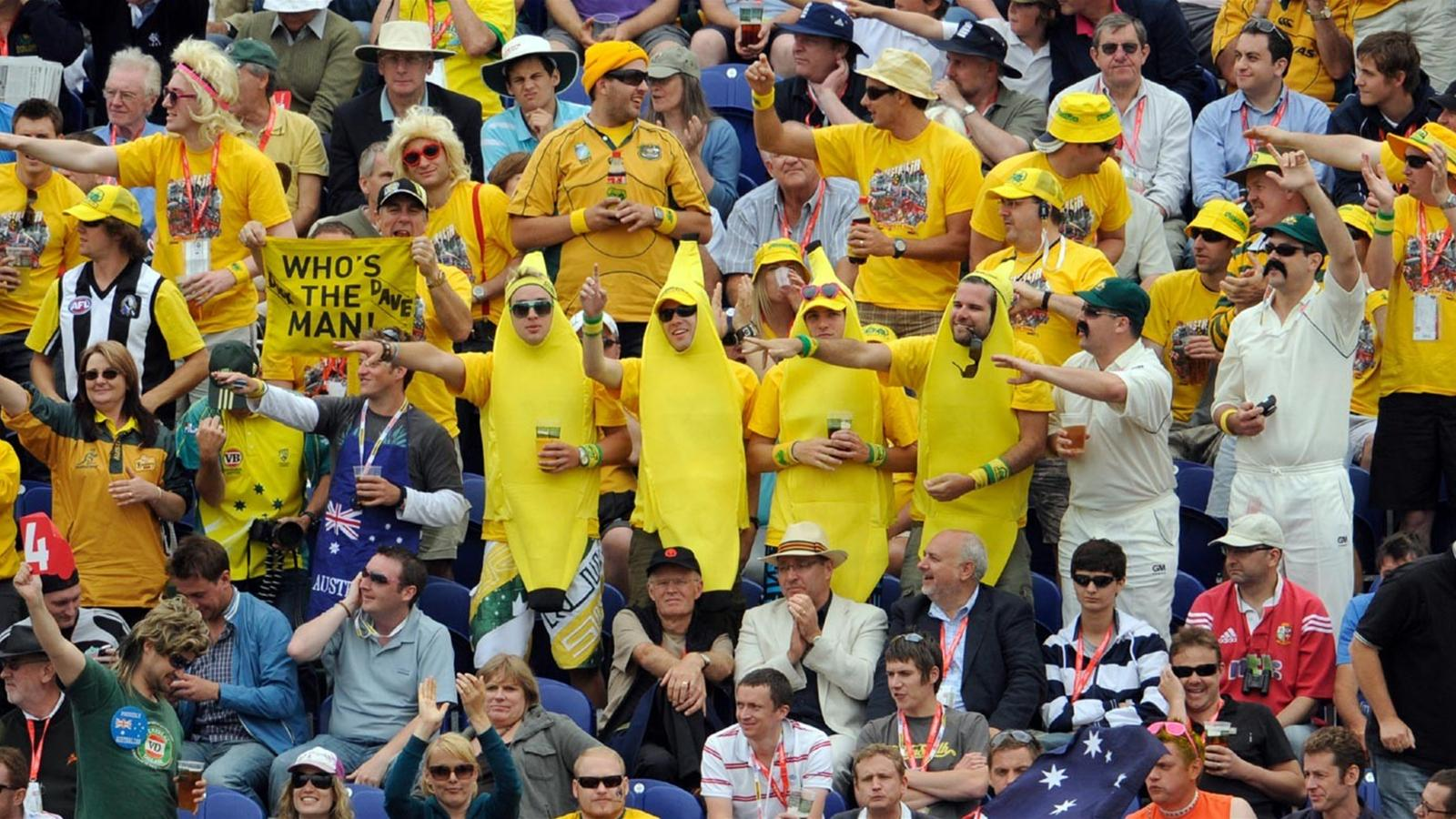 Record Crowd At Mcg Ashes 2009 Cricket Eurosport