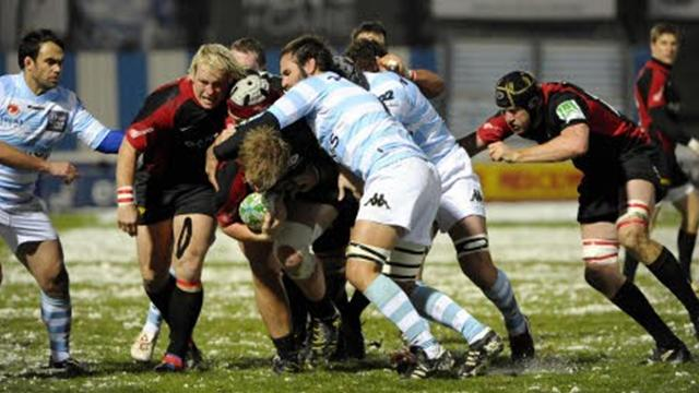 Coup de froid au Racing - Rugby - Coupe d'Europe