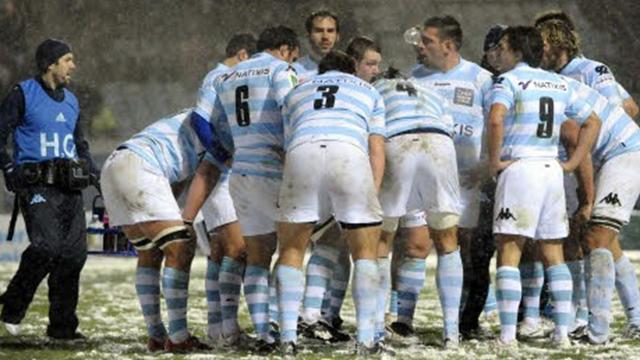 Racing: La sortie de route - Rugby - Coupe d'Europe