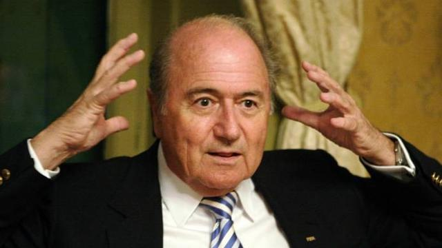 New gaffe from FIFA's Blatter