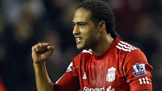 Liverpool defender Glen Johnson