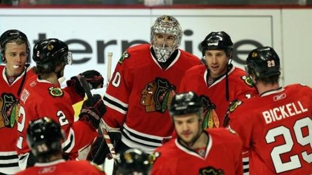 Blackhawks on the brink
