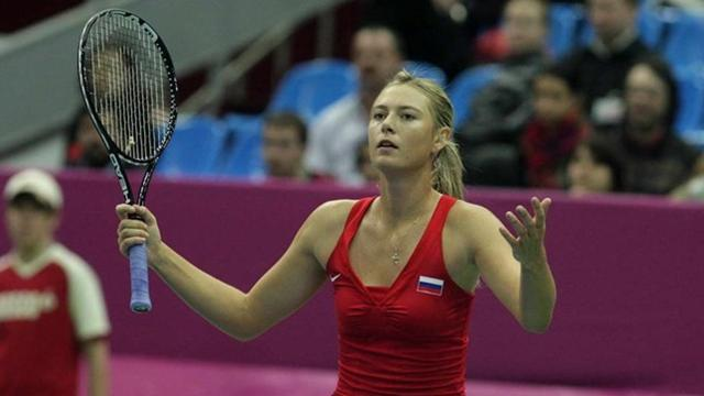 Sharapova to lead Russia  - Tennis - Fed Cup