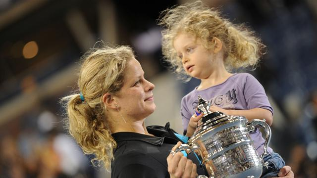 Clijsters finds balance - Tennis