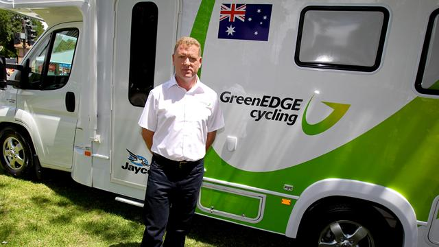 GreenEDGE named in top 15 - Cycling