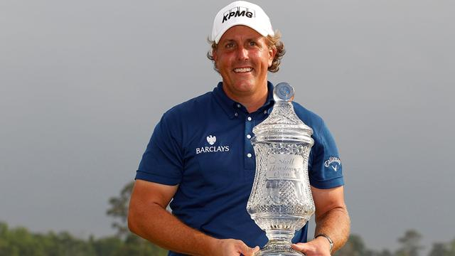 Mickelson tunes up for Masters with Houston win