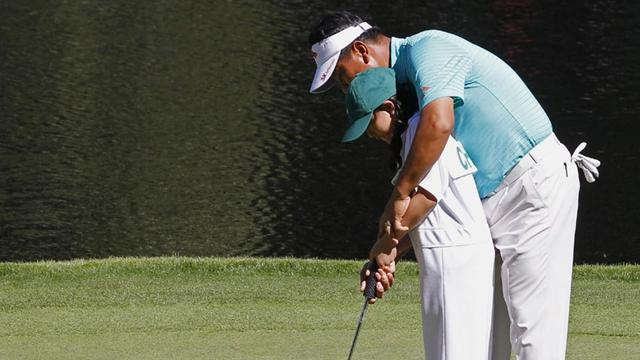 Donald wins Masters Par-3 Contest