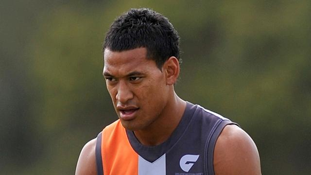 Folau to stay in AFL - Australian Football