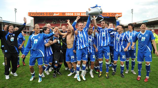 Brighton clinch title - Football - League One