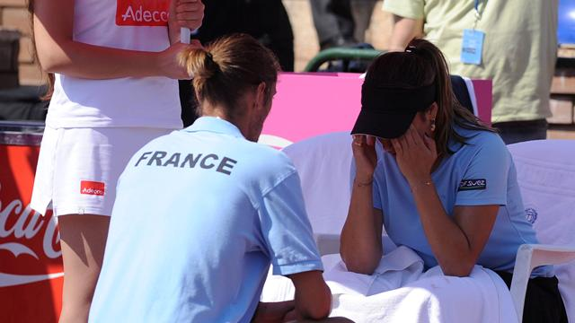 La France touche le fond - Tennis - Fed cup