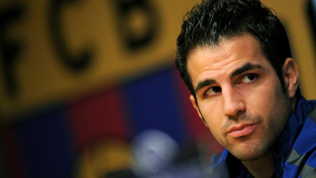 Fabregas finally returns home to Barca