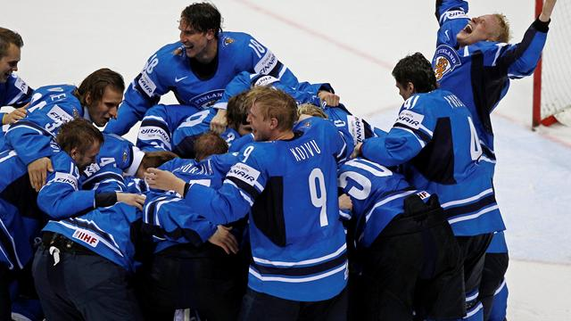 World glory for Finland - Ice Hockey