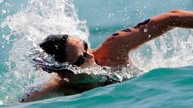 Marathon swimmers ready - Swimming - Olympic Games