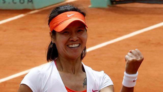 Li makes history by reaching final