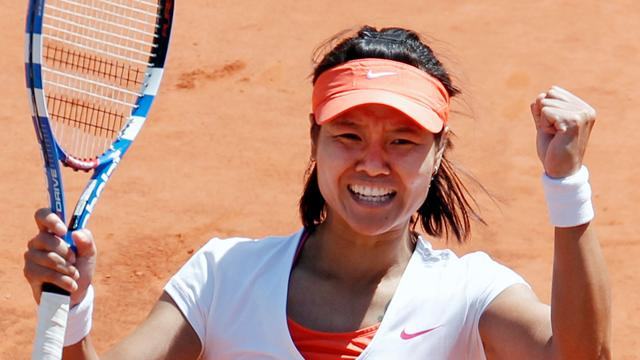 Li wins French Open - Tennis - French Open
