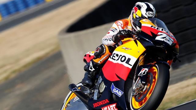 Pedrosa sets blistering pace at Brno