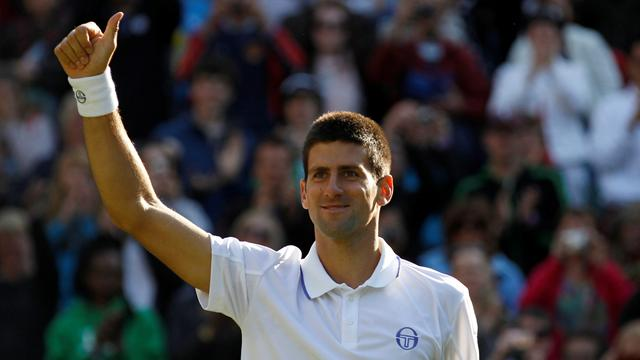 Djokovic easily through - Tennis - Wimbledon
