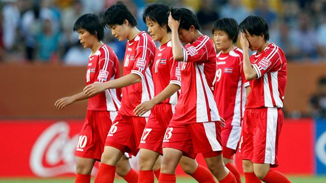 North Korea excuse - Football - Women's World Cup