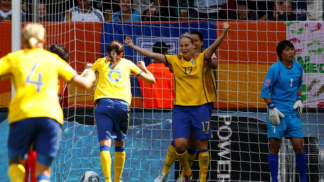 Sweden take pole position - Football - Women's World Cup
