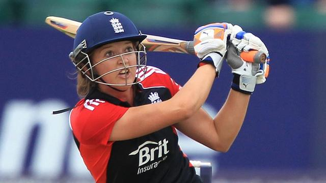England women beat India