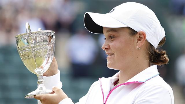 Barty seals Aussie double at Wimbledon