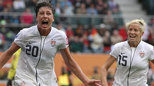 Americans credit freedom - Football - Women's World Cup