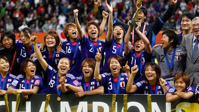 Japan win World Cup - Football - Women's World Cup
