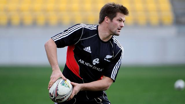McCaw, Carter rested - Rugby - Tri-Nations